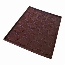 Edged Silicone Mat with Round Markings