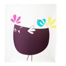 "Kakemono poster, ""cocotte et cie"""
