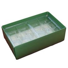 Base profonde 1/2 lb rectangle, Olive