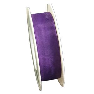 "Purple organza ribbon ""Sunlight"" (1in)"