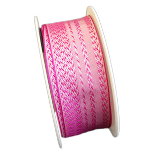 « Marqueterie » Cherry tree ribbon  (1.5in)