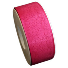 "Fuchsia ""Lace"" ribbon (1.5in)"