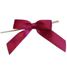 Fuchsia satin bow