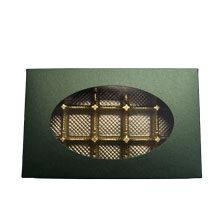 1lb rectangular box, Forest green fedrigoni