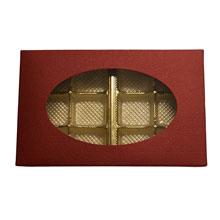 Box 1/2lb rectangular, Sangria