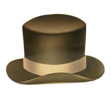 Boîte, chapeau Haut de forme