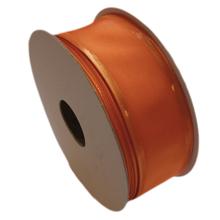 Orange ribbon, gold trim (1.4in)