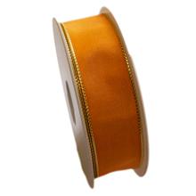 Ruban jaune mikado uni (25mm)