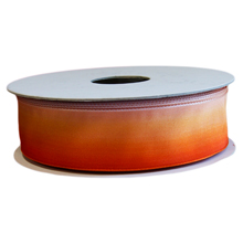 Ruban ombré orange (25mm)