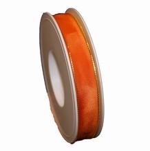 Ruban orange monarque uni (15mm)