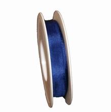 Navy blue sheer ribbon (1in)