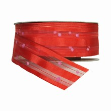 Bright Red Lilipompom Ribbon (1.5in)