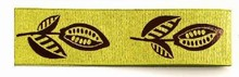 Cocoa pod Lime Green Ribbon (1.5in)