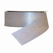 Sparkly silver ribbon (1.5in)