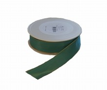 Ruban émeraude laitonné (25mm)