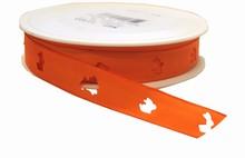 Ruban lapin orange (15mm)