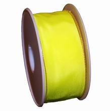 Ruban jaune néon uni (40mm)