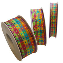 Ribbon with small dots (15mm)
