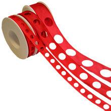 Red circle ribbon (15-25-40mm)