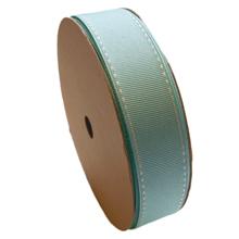 Ruban gros grain Bleu Aqua (25mm)