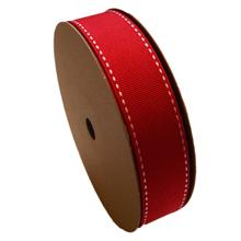 Grosgrain ribbon red (1in)