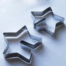 3D standing shape, cookie cutter. Star