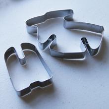 Forme debout 3D, emporte-pièce. Renne