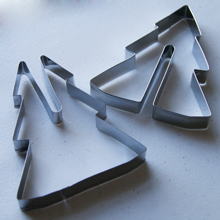 3D standing shape, cookie cutter. Christmas tree