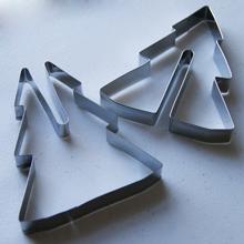 Forme debout 3D, emporte-pièce. Sapin de Noël