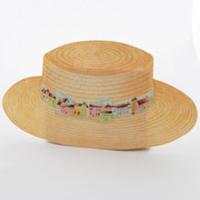Boater hat, town (small)