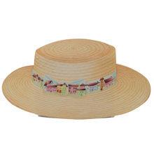 Boater Hat, Village (Large)