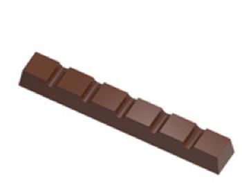 Barre 6-portions carré