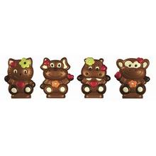 Chat, chien, singe et hippo (A)
