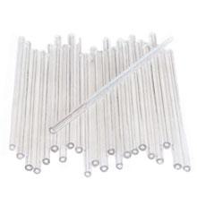 Bâtonnets de plastique à sucette Transparent