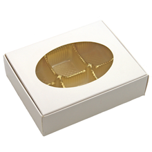 1/4LB GLOSSY WHITE BOX