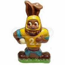 PVC mold, football Easter bunny