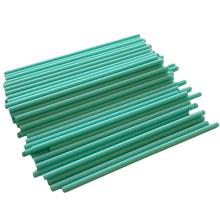 Bâtonnets de plastique à sucette Turquoise