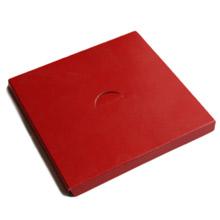 Plateforme 1/2lb carré rouge
