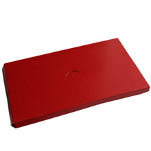 Plateform 1lb rect. rouge