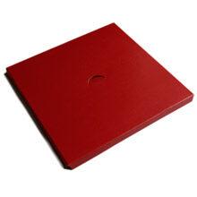 Red 1lb Square Raiser