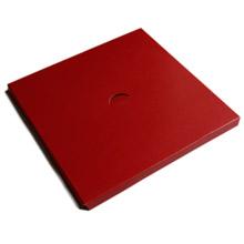 Plateforme 1lb carré rouge
