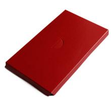 Plateforme 1/2lb rect. rouge
