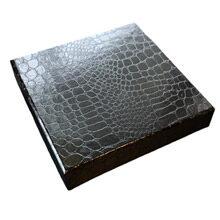 Croco illusion black box, 9ct
