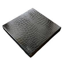 Black croco box, 16ct
