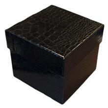 Ebony Croco 3 Tier Display Box