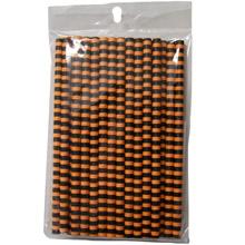 Orange and black Print Cake Pop Sticks