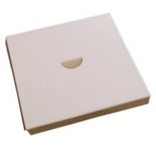 Plateforme 1/2lb carré Blanche