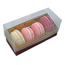Macaron Box, 4ct