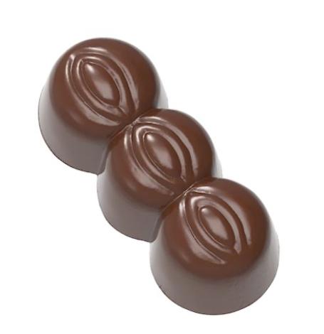 Moule à chocolat trois noix