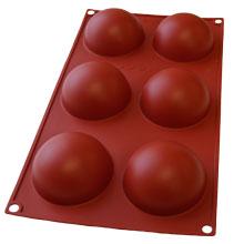 Demi-sphères silicone (68mm)